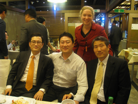 Alumni Luncheon in Korean