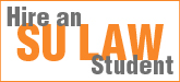 Hire and SU Law Student